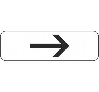 """Panneau type routier """"Flèche à droite"""" ref:M3b1"""