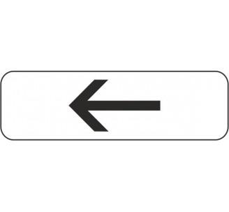 """Panneau type routier """"Flèche à gauche"""" ref:M3b2"""