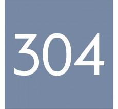 Plaque en plexiglass avec numéro pour logement