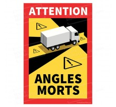Sticker Angles morts pour camion