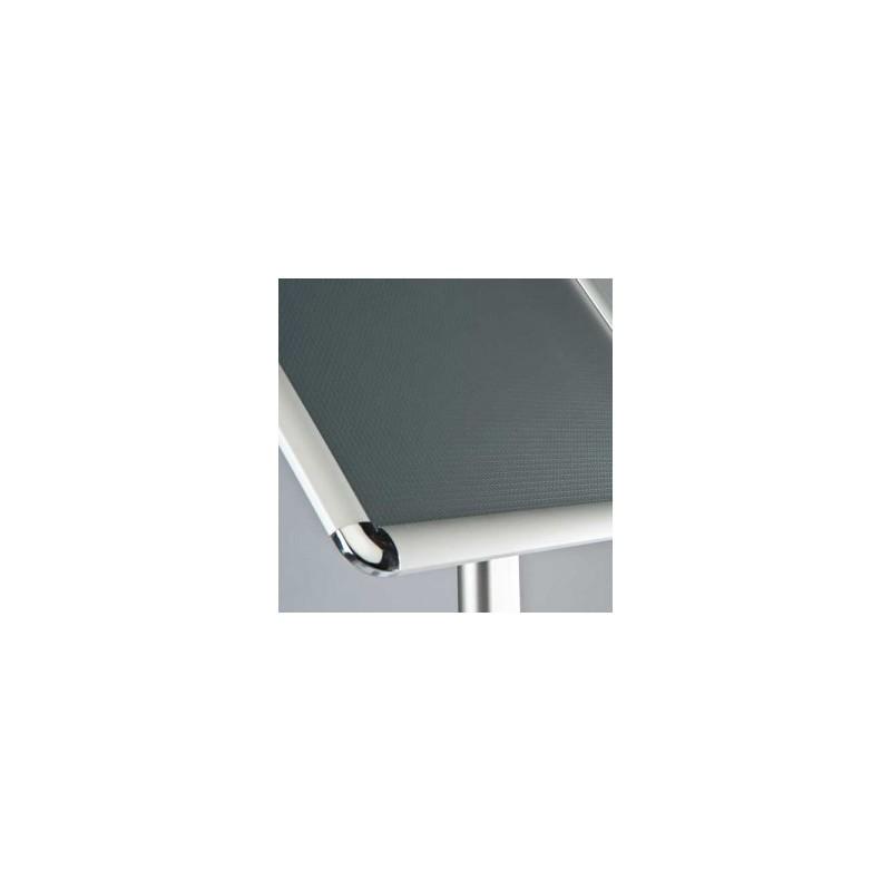 pr sentoir sur pied avec cadre clic clac a4. Black Bedroom Furniture Sets. Home Design Ideas