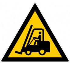 Panneau PVC rigide danger chariots élévateurs