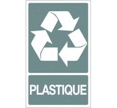 Panneau PVC rigide dim: H 330x L 200 mm recyclage sélectif plastique