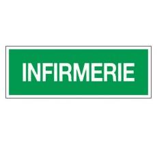 Adhésif ou panneau PVC rigide dim: H 120 x L 330 mm Infirmerie