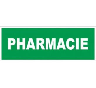 Adhésif ou panneau PVC rigide dim: H 120 x L 330 mm Pharmacie