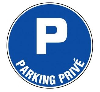 Panneau PVC rigide  Parking privé