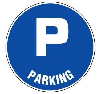 Panneau PVC rigide  Parking