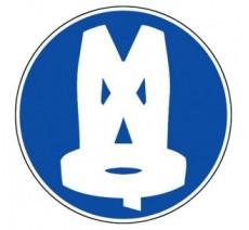 Panneau PVC rigide obligation de porter un gilet de sécurité