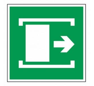 Adhésif ou panneau PVC rigide dim: H 200x L 200 mm Faire coulisser pour ouvrir
