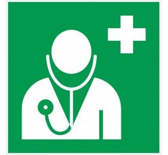 Adhésif ou panneau PVC rigide dim: H 200x L 200 mm Médecin