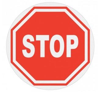 Panneau PVC rigide Stop