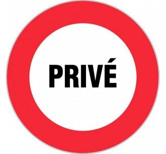 Panneau PVC rigide Privé
