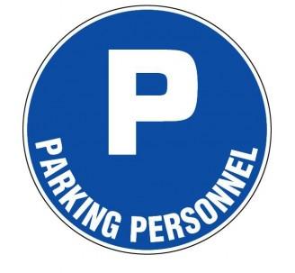 Panneau PVC rigide  Parking personnel
