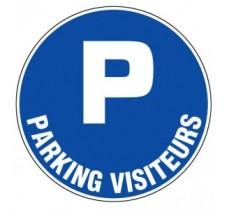 Panneau PVC rigide  Parking visiteurs