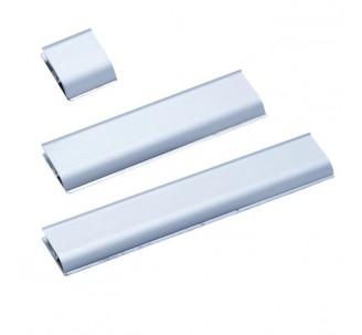 Rail pince en aluminium H 40 x P 13 mm
