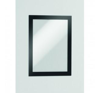 2 Porte-affiches muraux adhésifs repositionnables coloris et taille au choix