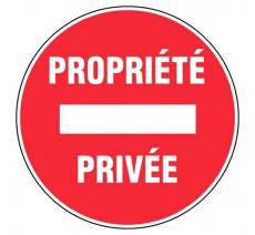 Adhésif souple Propriété privée