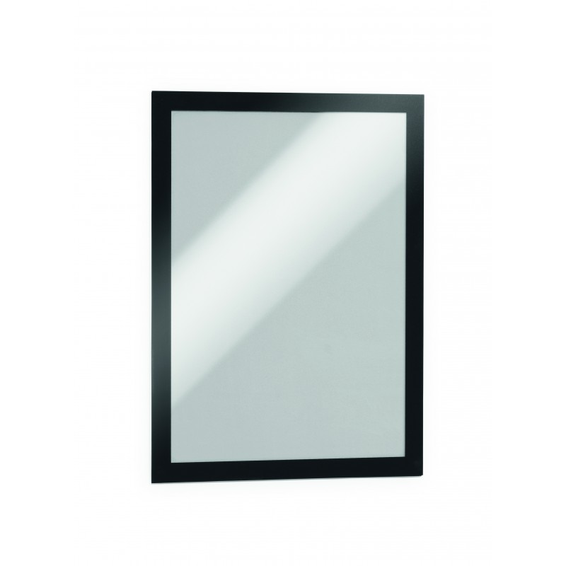 Porte affiche mural adh sif repositionnable format a5 for Taille porte interieure