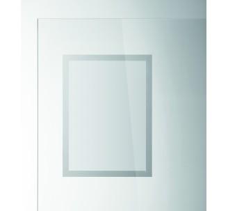 2 porte-affiches DURAFRAME® SUN muraux adhésifs