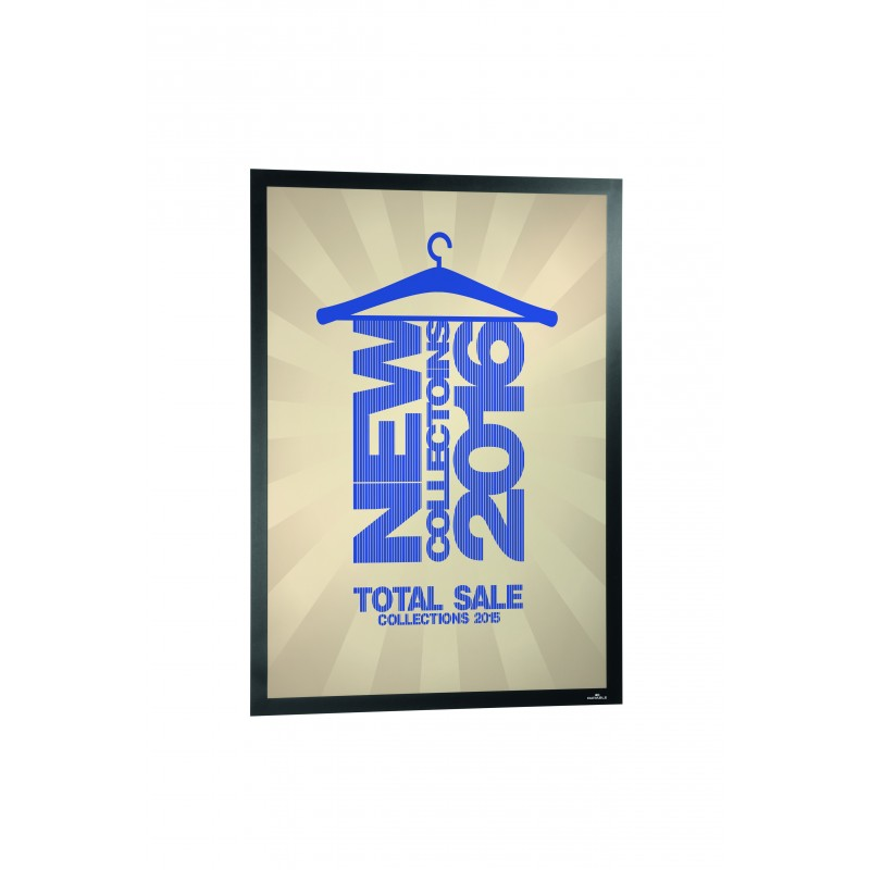 porte affiche poster sun mural adh sif repositionnable 500x700mm. Black Bedroom Furniture Sets. Home Design Ideas