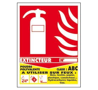 Panneaux PVC Priplack dim: H 270 xL 200 mm classe de feu ABC