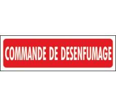 Panneaux PVC Priplack dim: H 60 x L 200 mm commande de désenfumage