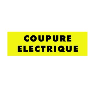 Panneaux PVC Priplack dim: H 60 x L 200 mm coupure électrique