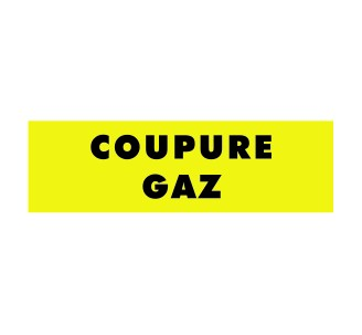 Panneaux PVC Priplack dim: H 60 x L 200 mm coupure gaz