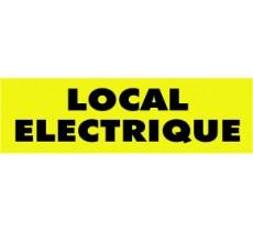 Panneaux PVC Priplack dim: H 60 x L 200 mm local électrique