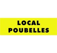 Panneaux PVC Priplack dim: H 60 x L 200 mm local poubelles
