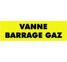Panneaux PVC Priplack dim: H 60 x L 200 mm vanne barrage gaz