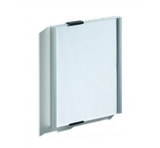 Plaque de porte alu à personnaliser dim: H 210,5 x L 149 mm