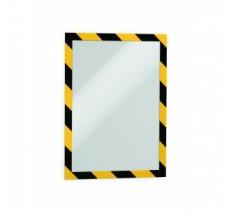 2 porte-affiches SECURITY format A4 adhésifs repositionnables