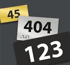 Numéro de porte - chambre
