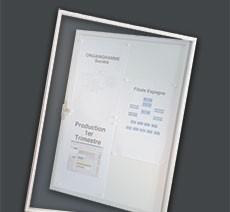 Vitrines d'affichage Intérieur/Extérieur