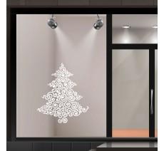 Stickers de Noël pour vitrines