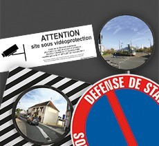 Signalétique extérieure pour mairies et administrations