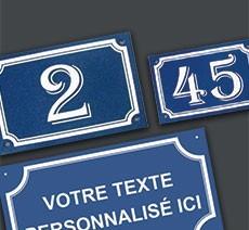 Numéro et nom de rue